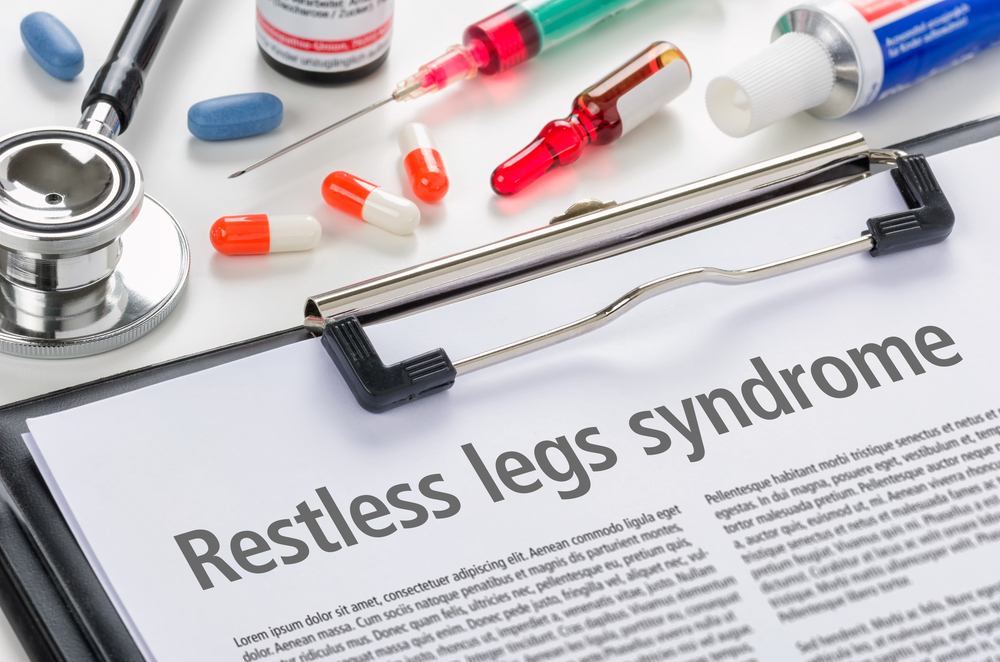 restless leg syndrome clipboard