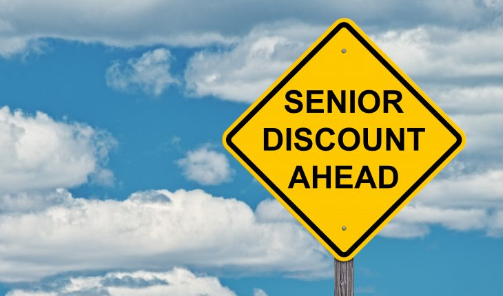 senior discount ahead