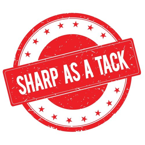 sharp as a tack stamp