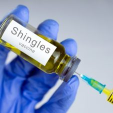 needle used for shingles vaccine