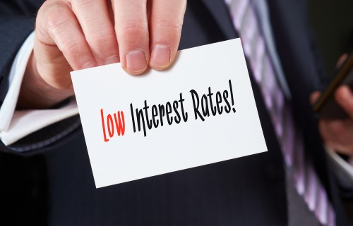 Low Interest Rate Business Card