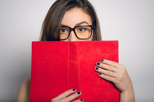 shy-woman-with-book
