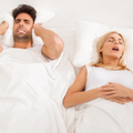 snoring-woman