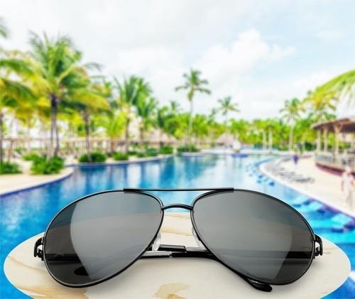 sunglasses pool