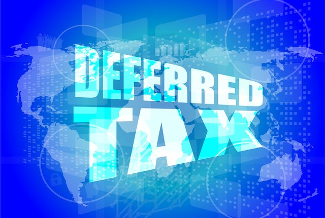 tax deferred