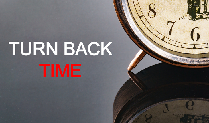 turn back time clock