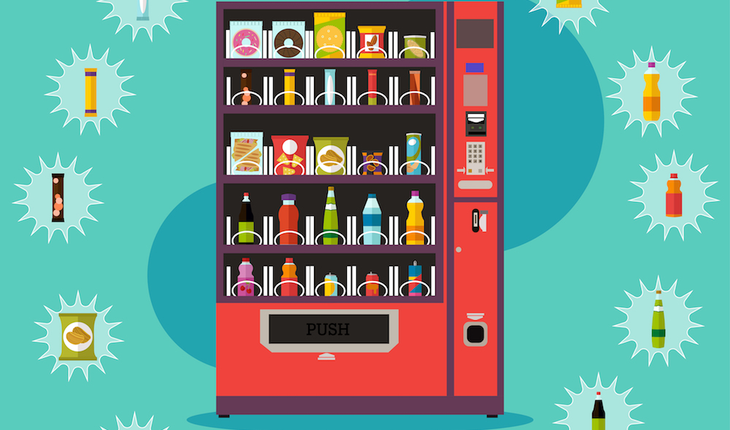 vending machine choices