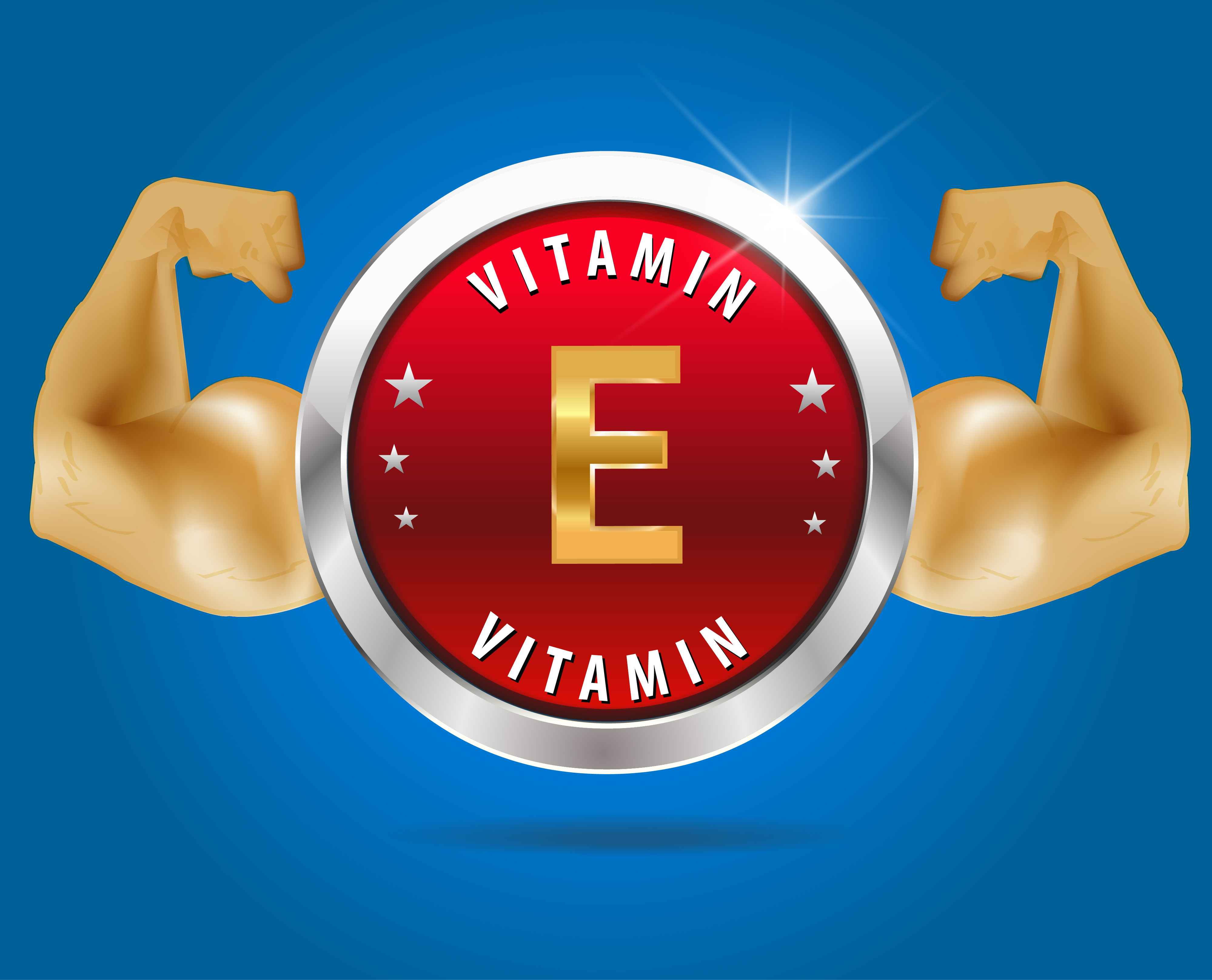 vitamin E cartoon