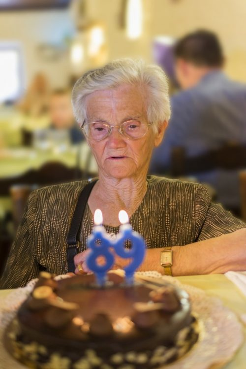 woman 89th birthday