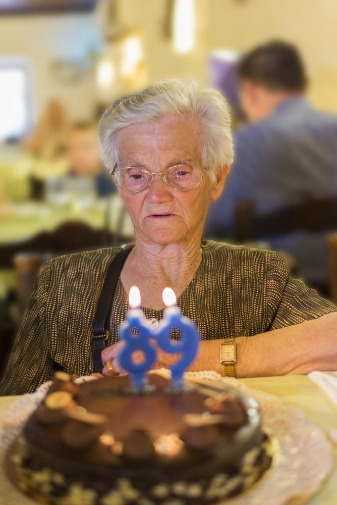 woman 89th birthday