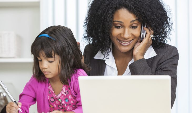 work-at-home mothers