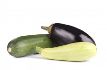 zuchinni and eggplant